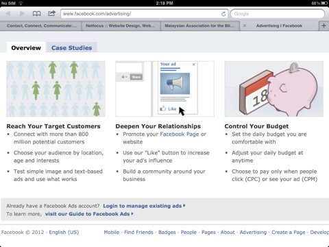 Facebook advertising - CPM or CPC?><img src=
