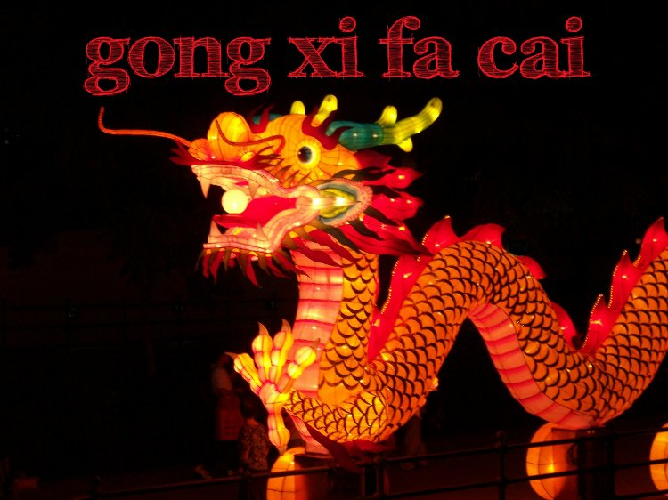 Gong Xi Fa Cai - Happy Chinese New Year